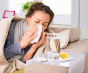 The flu hit me Photo credit © Can Stock Photo Inc. / Subbotina